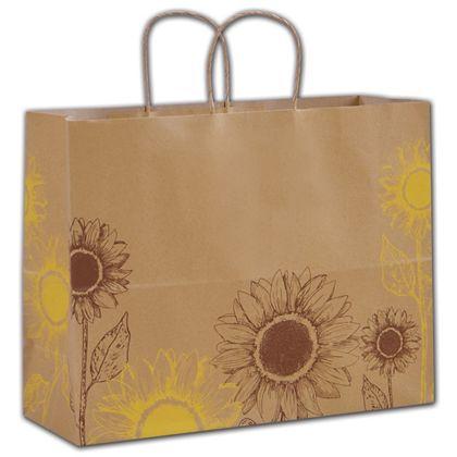 """Sunflower Shoppers, 16 x 6 x 12 1/2"""""""