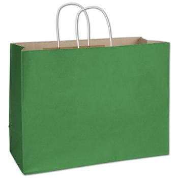 Spruce Green Radiant Shoppers, 16 x 6 x 12 1/2