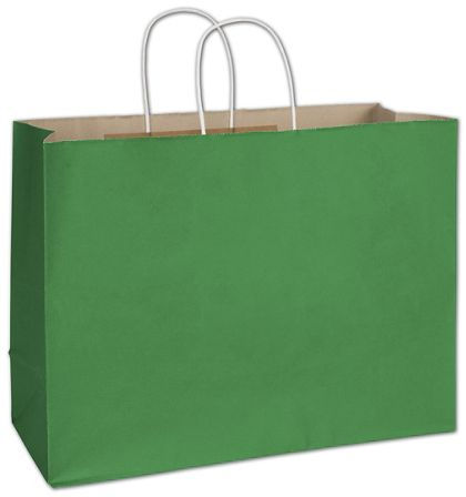 """Spruce Green Radiant Shoppers, 16 x 6 x 12 1/2"""""""