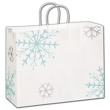 Snowflake Shoppers, 16 x 6 x 12 1/2