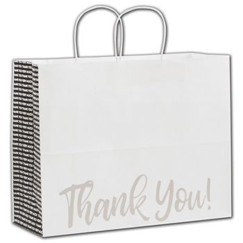 Many Thanks Shoppers, 16 x 6 x 12 1/2