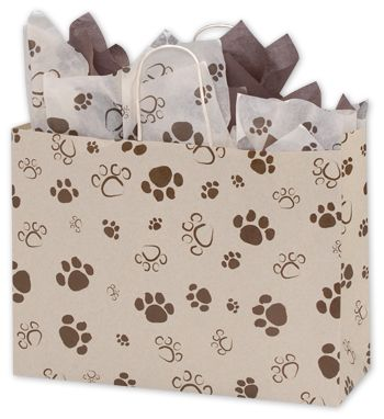 Paws Oatmeal Vogue Shoppers, 16 x 6 x 12 1/2