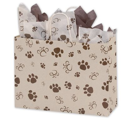 Paws Oatmeal Vogue Shoppers, 16 x 6 x 12 1/2""