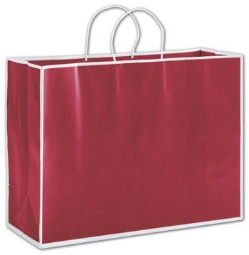 Bridge Red Shoppers, 16 x 6 x 12