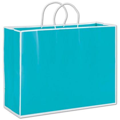 China Beach Blue Shoppers, 16 x 6 x 12