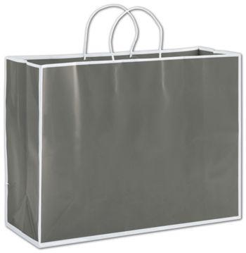 Slate Grey Shoppers, 16 x 6 x 12