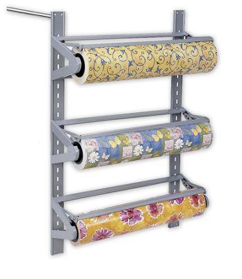 Three Roll Wall Rack, 24
