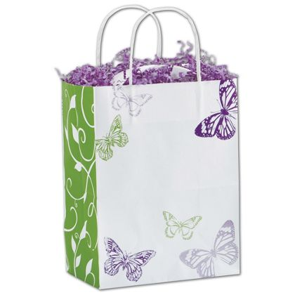 "All a Flutter Shoppers, 8 1/4 x 4 3/4 x 10 1/2"", Mini Pack"