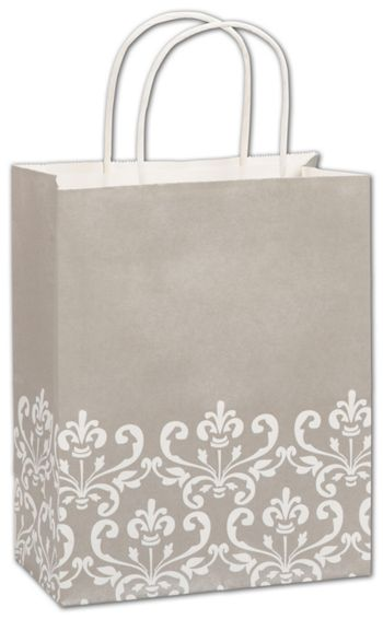 Champagne Chic Shoppers, 8 1/4x4 3/4x10 1/2