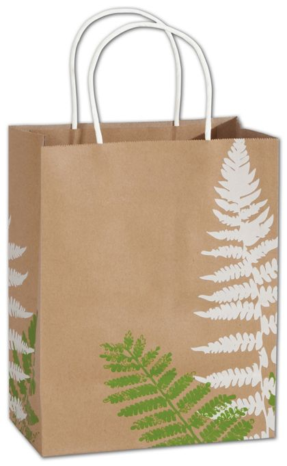 """Fashion Fronds Shoppers, 8 1/4x4 3/4x10 1/2"""", Mini Pack"""