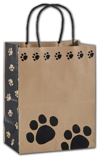 Precious Paws Shoppers, 8 1/4 x 4 3/4 x 10 1/2