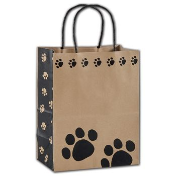 "Precious Paws Shoppers, 8 1/4 x 4 3/4 x 10 1/2"", Mini Pack"