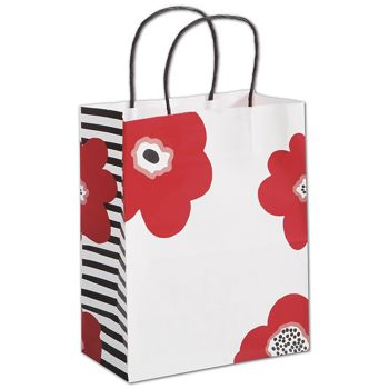 Poppy Shoppers, 8 1/4 x 4 3/4 x 10 1/2