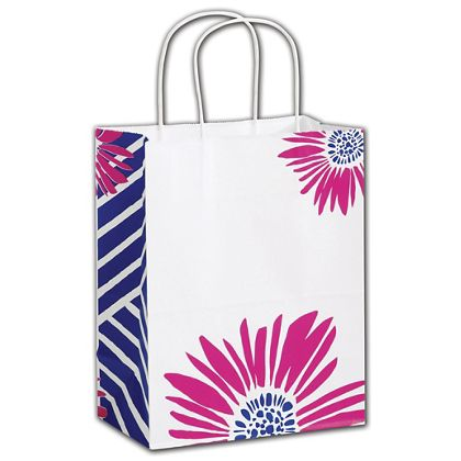 "Petals Shoppers, 8 1/4 x 4 3/4 x 10 1/2"", Mini Pack"