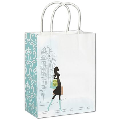 "Chic Shoppers, 8 1/4 x 4 3/4 x 10 1/2"", Mini Pack"