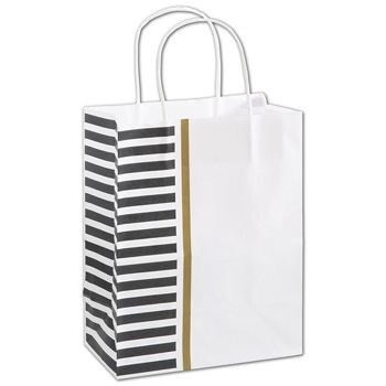 Sleek Style Shoppers, 8 1/4 x 4 3/4 x 10 1/2