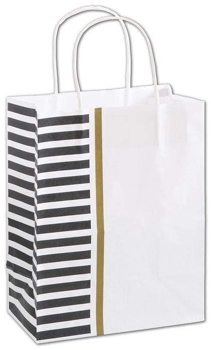 """Sleek Style Shoppers, 8 1/4 x 4 3/4 x 10 1/2"""", Mini Pack"""