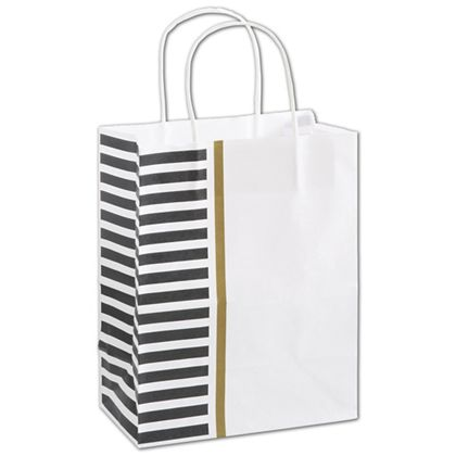 "Sleek Style Shoppers, 8 1/4 x 4 3/4 x 10 1/2"", Mini Pack"