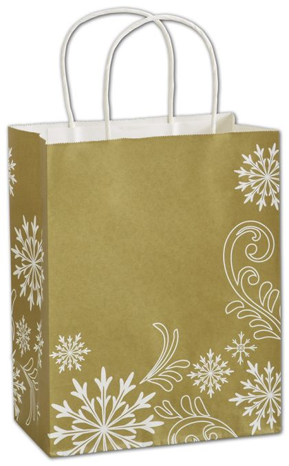 "Shimmer & Swirl Shoppers, 8 1/4x4 3/4x10 1/2"", Mini Pack"