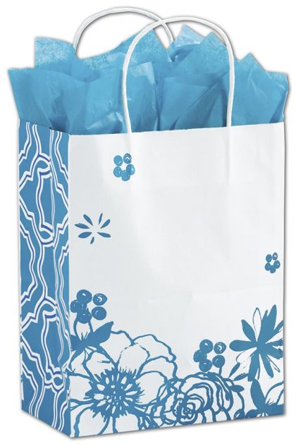 "Wild Blue Yonder Shoppers, 8 1/4x4 3/4x10 1/2"", Mini Pack"