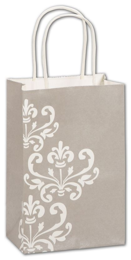"""Champagne Chic Shoppers, 5 1/4 x 3 1/2 x 8 1/4"""", Mini Pack"""