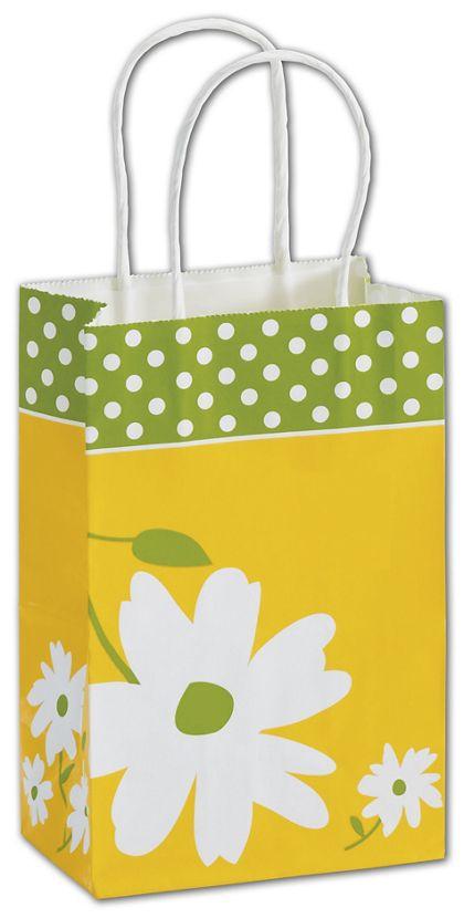 "Dashing Daisy Shoppers, 5 1/4 x 3 1/2 x 8 1/4"", Mini Pack"