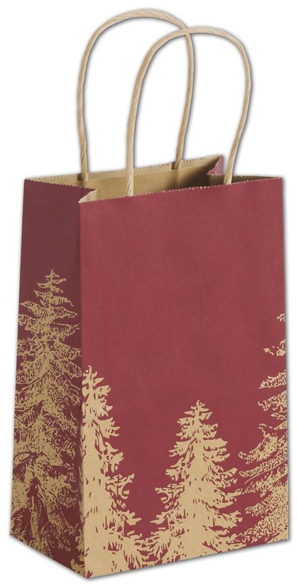 """A Pine Day Shoppers, 5 1/4 x 3 1/2 x 8 1/4"""", Mini Pack"""