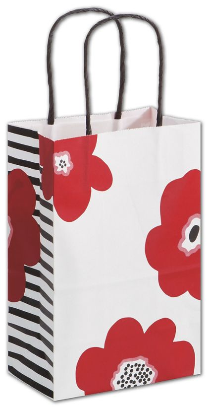 "Poppy Shoppers, 5 1/4 x 3 1/2 x 8 1/4"", Mini Pack"