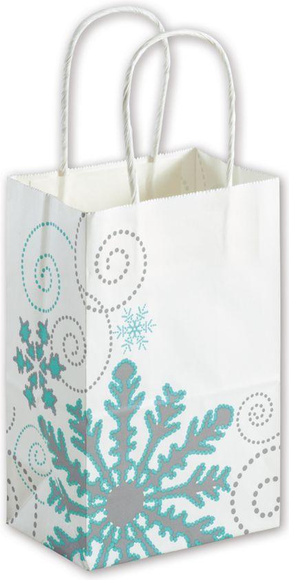 "Winter Wonderland Shoppers, 5 1/4x3 1/2x8 1/4"", Mini Pack"