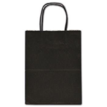 "Black Tinted Shoppers, 8 1/4 x 4 3/4 x 10 1/2"""
