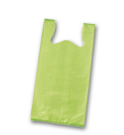Citrus Unprinted T-Shirt Bags, 11 1/2 x 7 x 23""