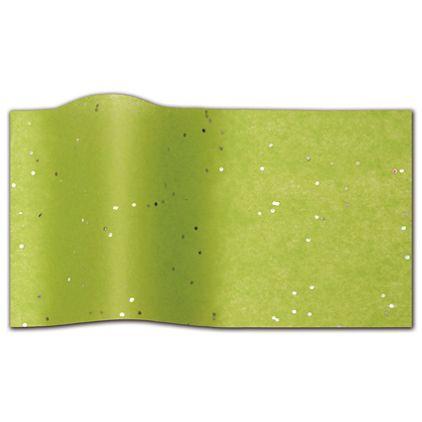 "Peridot Gemstone Tissue Paper, 20 x 30"""