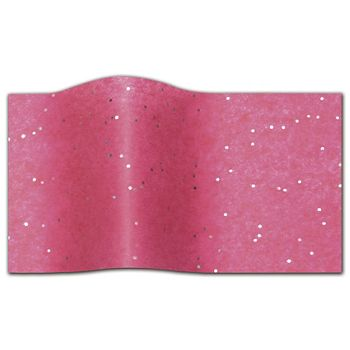 Gemstone Tissue Paper, Hot Pink, 20 x 30