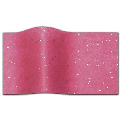 Gemstone Tissue Paper, Hot Pink, 20 x 30""