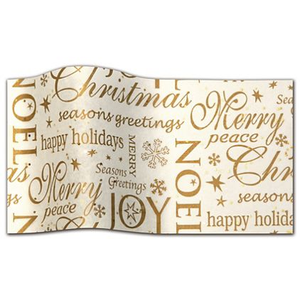 """Noel Gemstone Tissue Paper, 20 x 30"""""""