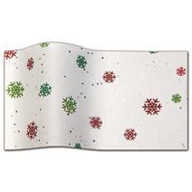 "Just Snowflakes Gemstone Tissue Paper, 20 x 30"""