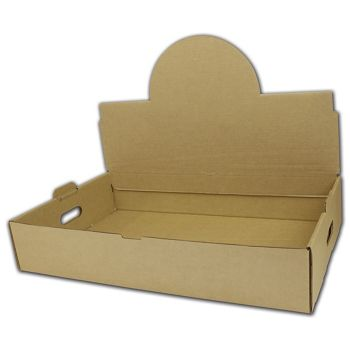 Kraft Handled Boxes, 21 1/2 x 13 3/8 x 4