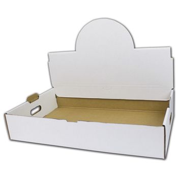 White Handled Boxes, 21 1/2 x 13 3/8 x 4