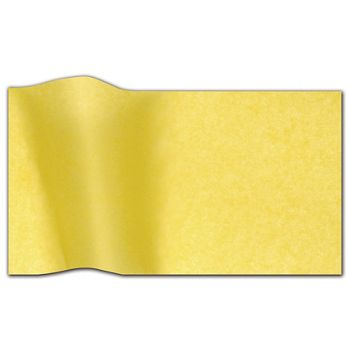 """Buttercup Waxed Tissue Paper, 20 x 30"""""""