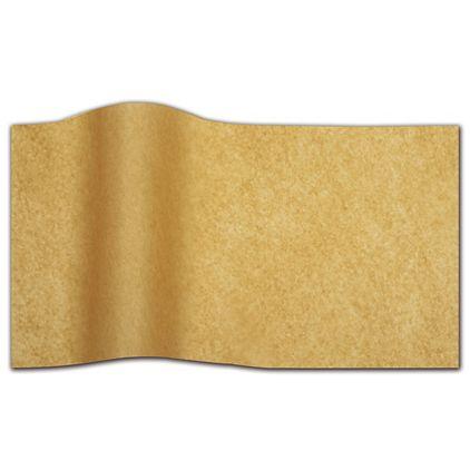 "Kraft Waxed Tissue Paper, 20 x 30"""