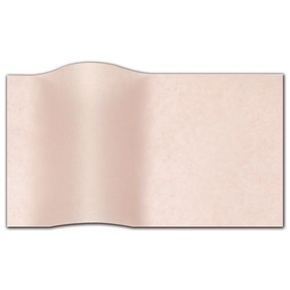 """Light Pink Waxed Tissue Paper, 20 x 30"""""""