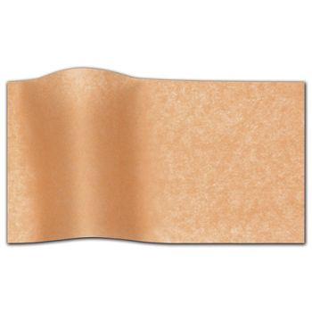 """Peach Waxed Tissue Paper, 20 x 30"""""""