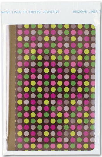Clear Polypropylene Bags w/ Adhesive Lip, 4 3/8x5 3/4