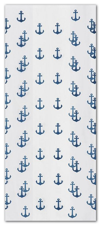 Anchors Away Navy Cello Bags, 4 x 2 1/2 x 9 1/2