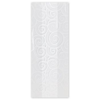 Euro Swirl White Cello Bags, 4 x 2 1/2 x 9 1/2