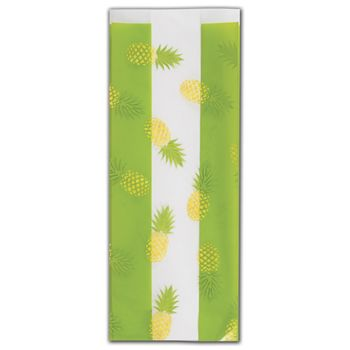 Party Like a Pineapple Cello Bags, 4 x 2 1/2 x 9 1/2