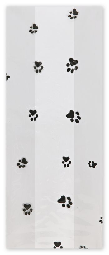 Paws Cello Bags, 4 x 2 1/2 x 9 1/2