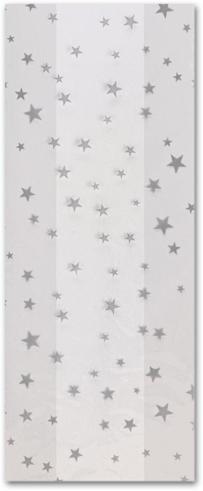 """Silver Stars Cello Bags, 5 x 3 x 11 1/2"""""""