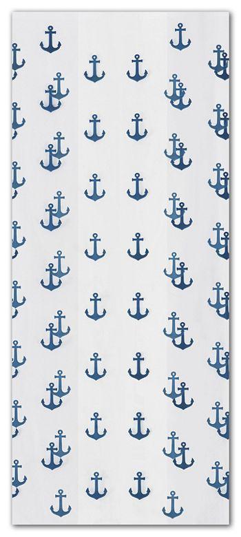 Anchors Away Navy Cello Bags, 5 x 3 x 11 1/2