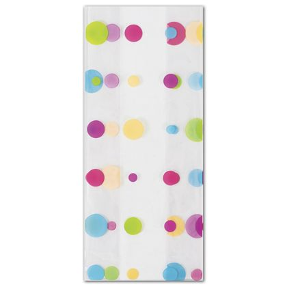 Dotty Spring Cello Bags, 5 x 3 x 11 1/2""